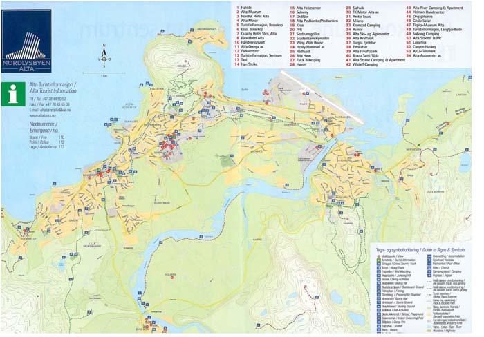 alta kart Informasjon om Alta. alta kart